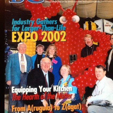 On The Cover of BC Restaurant News