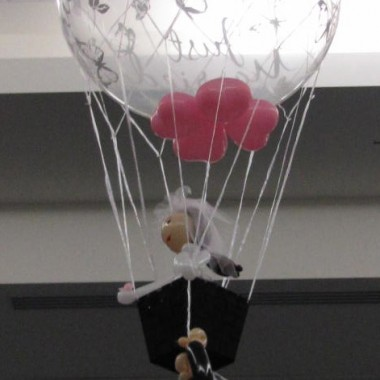 Hold On! Hot Air Bouquet