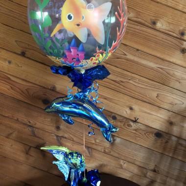 Hope your feeling better!   (Hospital friendly fish)