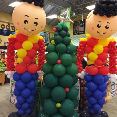 Tin Balloon Soldiers