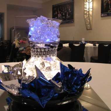 Centerpieces with glow