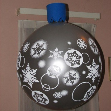 Giant Christmas Ornament