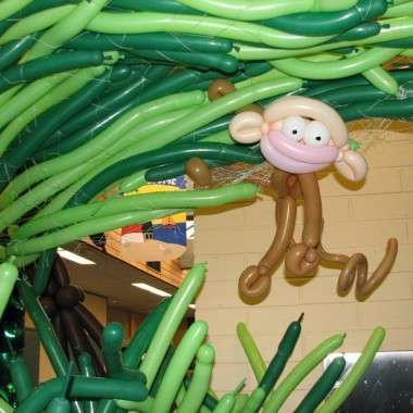 Monkey in the branches
