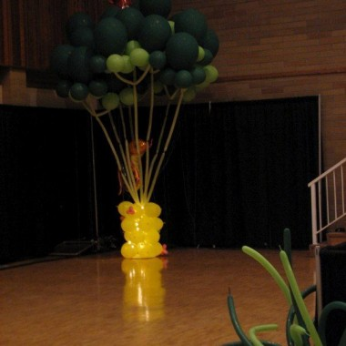 Balloon Tree with mini light base
