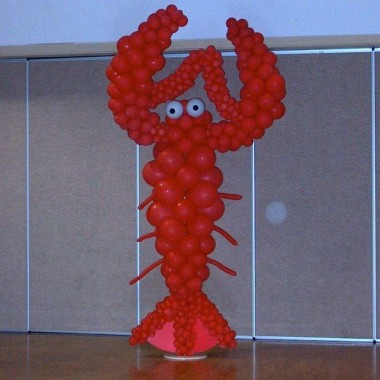 Standing Lobster