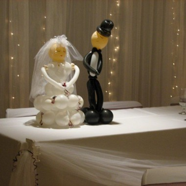 Table top Bride and Groom