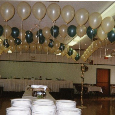 Another view of Partial Dance Floor Canopy
